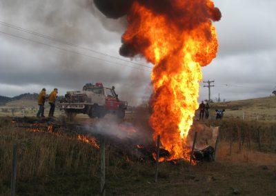 Tasmania, fireball
