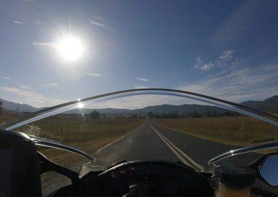 The open road calls...