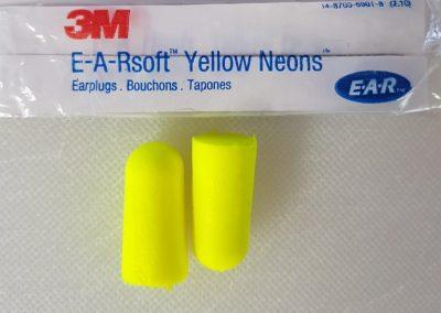 3M E-A-Rsoft Yellow Neons