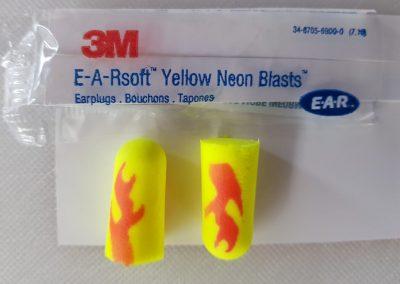 3M E-A-Rsoft Yellow Neons Blasts
