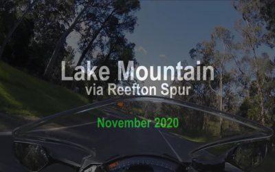 Lake Mountain via Reefton Spur